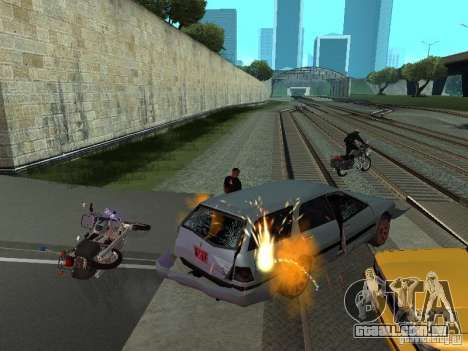 As máquinas de explosão realista para GTA San Andreas terceira tela
