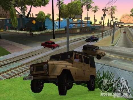 UAZ 460 para GTA San Andreas vista direita