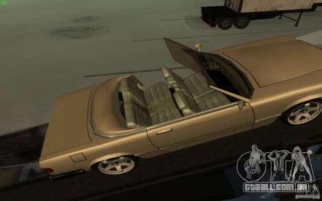 New Feltzer para GTA San Andreas vista traseira