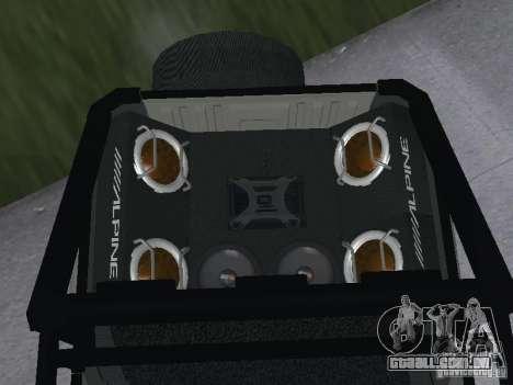 UAZ-3159 para GTA San Andreas traseira esquerda vista