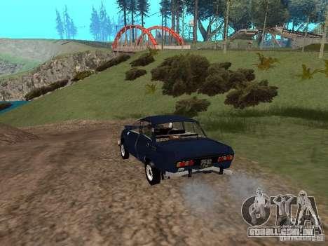Moskvich esfarrapado para GTA San Andreas vista direita