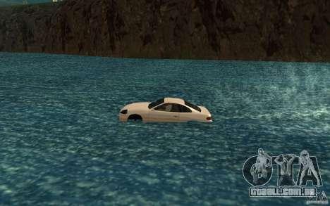 Alpha boat para GTA San Andreas esquerda vista