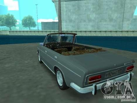 VAZ 2103 Cabrio para GTA San Andreas traseira esquerda vista