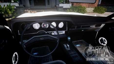 Ford Gran Torino 1975 v1.1 para GTA 4 vista de volta