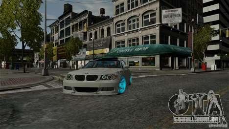 BMW 135i HellaFush para GTA 4 vista de volta