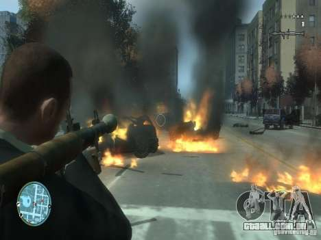 Intense Fire Mod para GTA 4 segundo screenshot