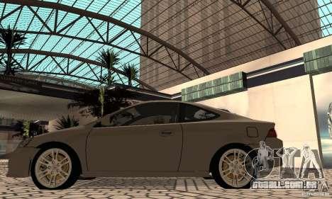 Acura RSX New para GTA San Andreas vista direita
