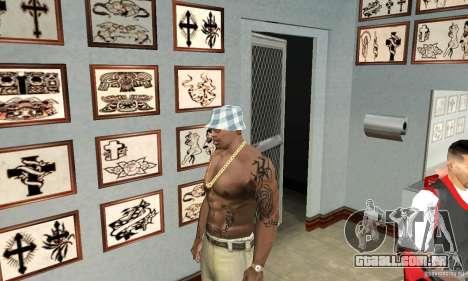 50cent_tatu para GTA San Andreas terceira tela