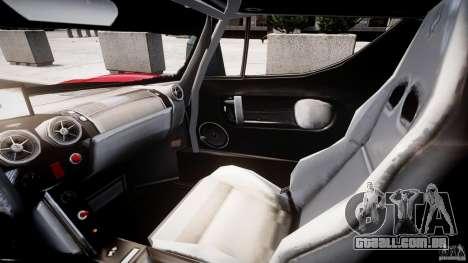 Ferrari FXX para GTA 4 vista de volta