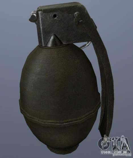 M61 Grenade para GTA San Andreas segunda tela