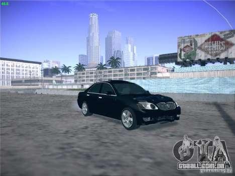 Toyota Mark II Grande para GTA San Andreas vista interior