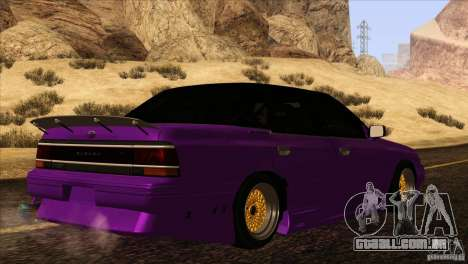 Subaru Legacy Drift Union para GTA San Andreas vista interior