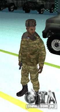 Dembele Covetskoj exército para GTA San Andreas segunda tela