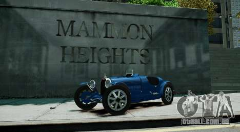 Bugatti Type 35C para GTA 4
