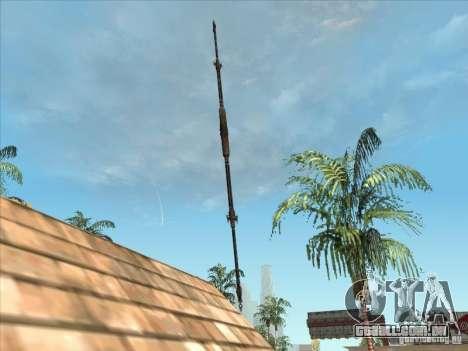 A lança de predador para GTA San Andreas
