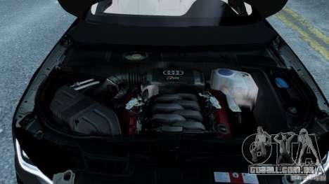 Audi A8 LED 2012 para GTA 4 interior