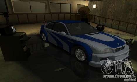 BMW M3 Tuneable para o motor de GTA San Andreas