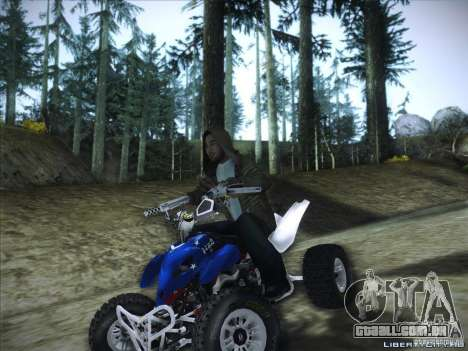 Bike Pure para GTA San Andreas esquerda vista