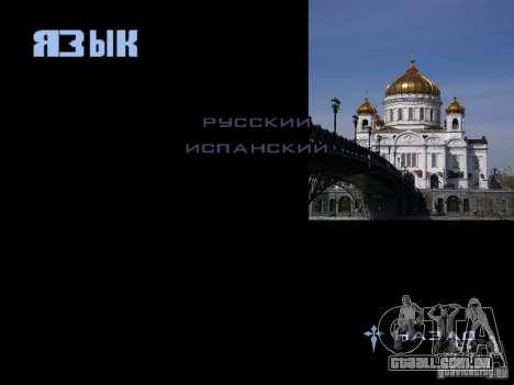 Tela de boot Moscou para GTA San Andreas oitavo tela