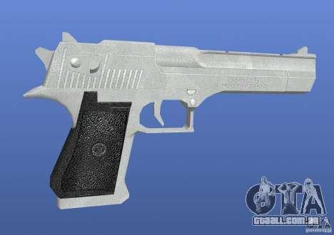 Silver Deagle para GTA 4 segundo screenshot