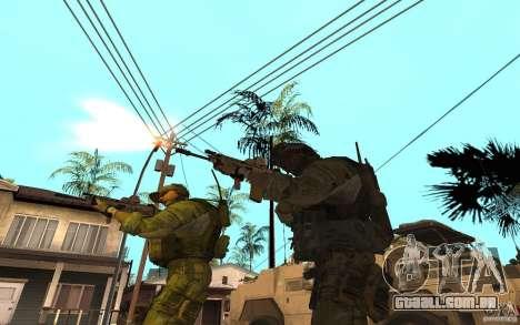 SCAR FN MK16 para GTA San Andreas terceira tela