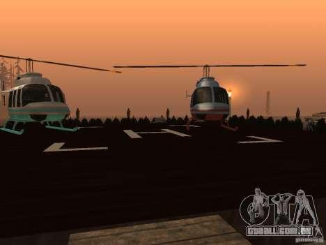 Clube sobre a água para GTA San Andreas sétima tela