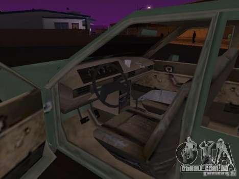 Máquina do CoD: MW para GTA San Andreas vista traseira