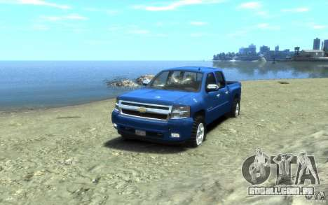 Chevrolet Silverado 2008 para GTA 4 vista inferior