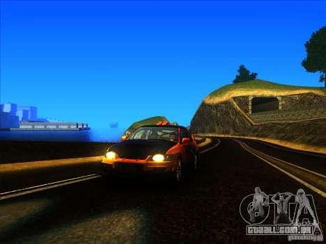 Mitsubishi Lancer Evolution IX MR para GTA San Andreas esquerda vista