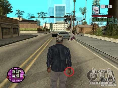 Bosta para GTA San Andreas segunda tela