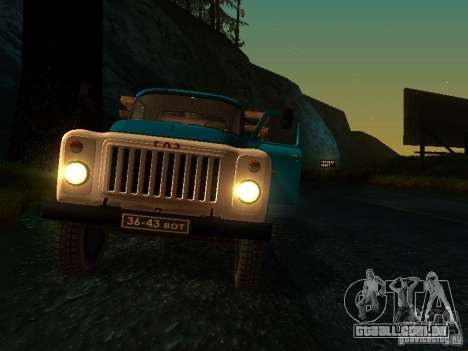 GAZ 53 para GTA San Andreas vista superior