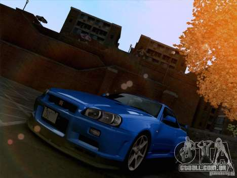 Realistic Graphics HD 3.0 para GTA San Andreas por diante tela