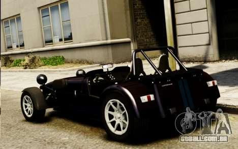 Caterham Superlight R500 v1.0 para GTA 4 esquerda vista