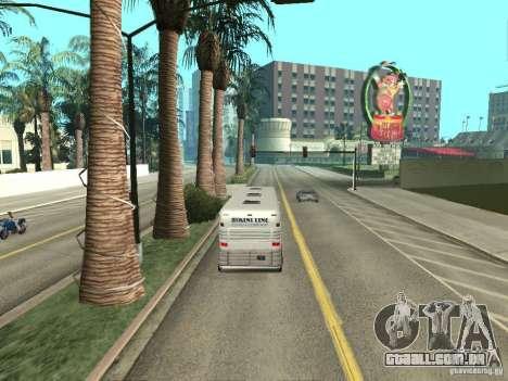 Linha de ônibus em Las Venturas para GTA San Andreas oitavo tela