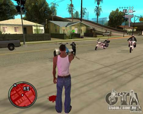 GTA IV HUD para GTA San Andreas terceira tela