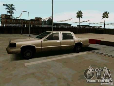 Uma limusine curta para GTA San Andreas esquerda vista