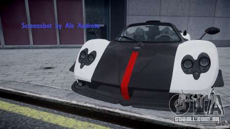 Pagani Zonda Cinque Roadster para GTA 4