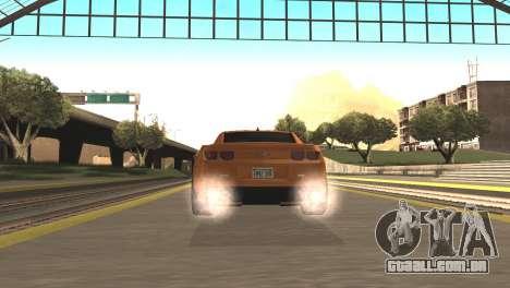 Chevrolet Camaro SS 2010 v2.0 Final para GTA San Andreas traseira esquerda vista