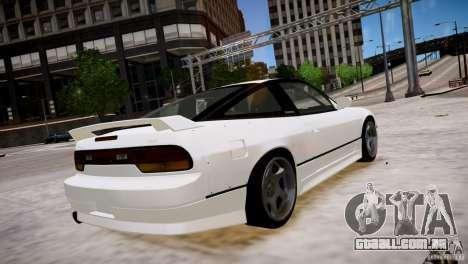 Nissan 240SX Drift para GTA 4 vista direita