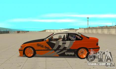 BMW Alpina B8 WideBody para GTA San Andreas esquerda vista