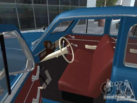Moskvitch 410 4 x 4 para GTA San Andreas vista traseira