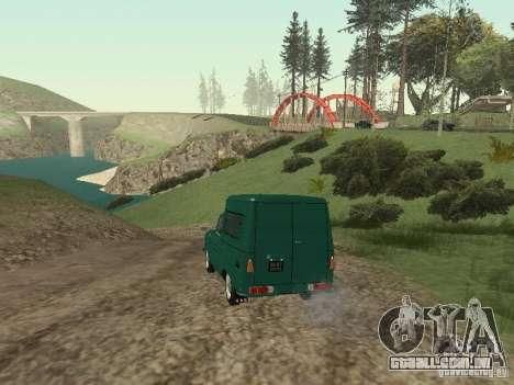 IZH 2715 para GTA San Andreas vista direita