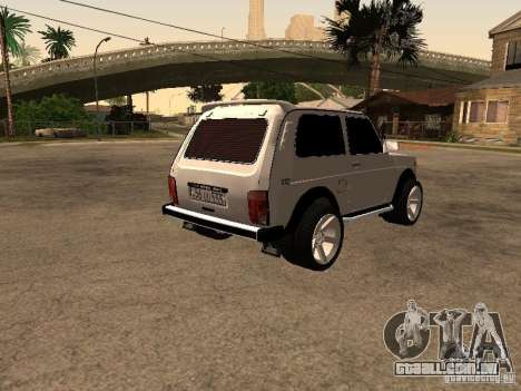 Armenian NIVA DORJAR 4 x 4 para GTA San Andreas vista direita