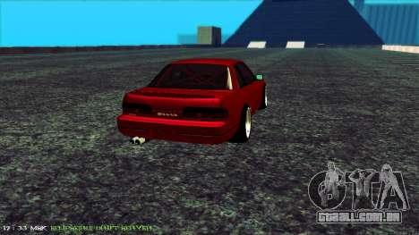 Nissan Onivia para GTA San Andreas traseira esquerda vista