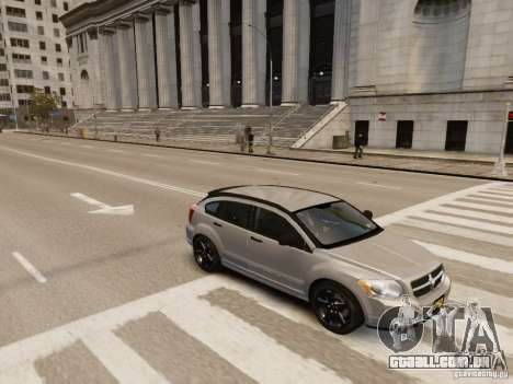 Dodge Caliber para GTA 4 vista inferior