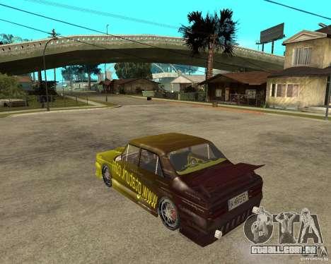Anadol GtaTurk Drift Car para GTA San Andreas esquerda vista