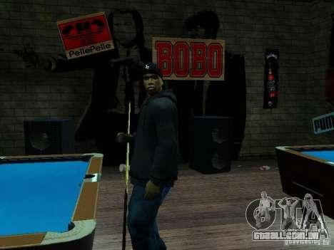 Crips para GTA San Andreas segunda tela