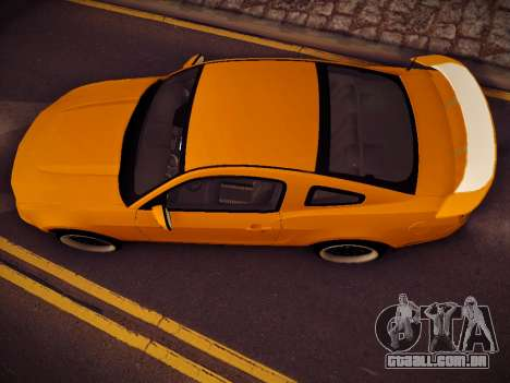 Ford Mustang GT 2010 Tuning para GTA San Andreas vista direita