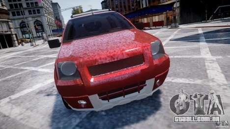 Ford EcoSport para GTA 4 vista interior