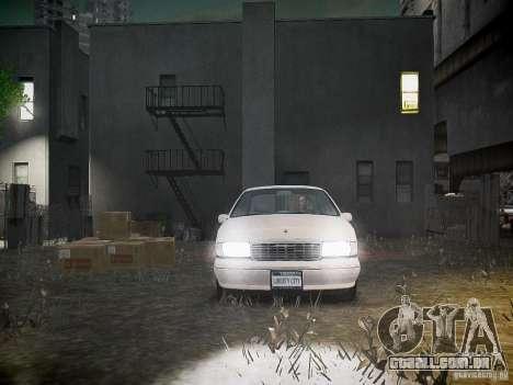 Chevrolet Caprice 1993 Rims 1 para GTA 4 vista superior